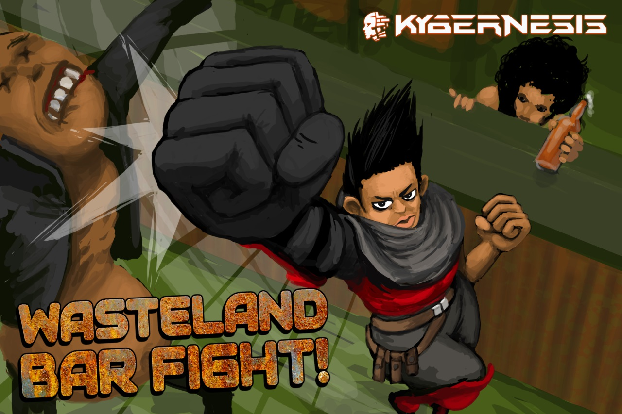 Wasteland Bar Fight Global Release